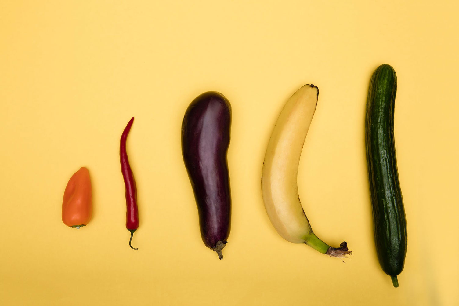 Larger Penis Shown by Fruits